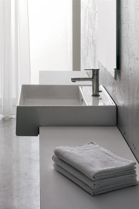 Lavabo 46x46 - Lavabo bagno semincasso ...